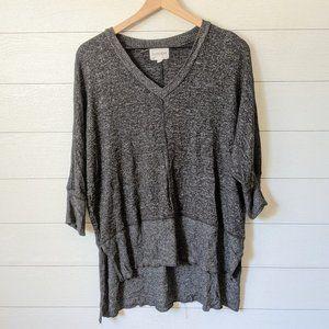 Olive & Oak Knit Tunic Top M